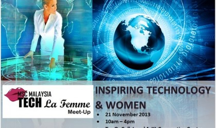 MSC Malaysia Tech La Femme Meet-Up