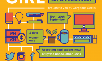GIRL (Getting Ideas ReaLised): an Unhackathon 2014