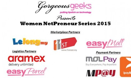 Gorgeous Geeks Women Netpreneur Series 2015 – Choosing The Right E-Marketplace For Your Business