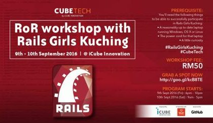RoR workshop with Rails Girls Kuching