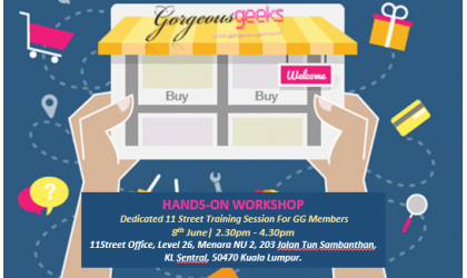 Hands-On Workshop: Dedicated 11 Street Training Session
