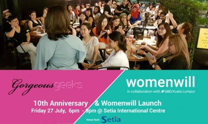 10th Anniversary & Womenwill Launch