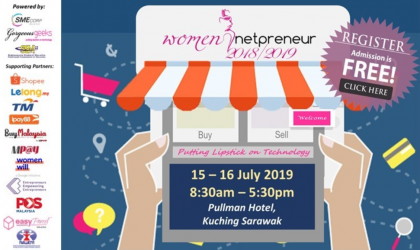 Women Netpreneur eCommerce Adoption Session (Kuching) July 2019