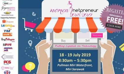 Women Netpreneur eCommerce Adoption Session (Miri) July 2019