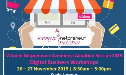 Women Netpreneur eCommerce Adoption Session 2019 Digital Business Workshops