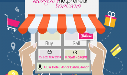 Women Netpreneur Session 2018, Johor Bahru