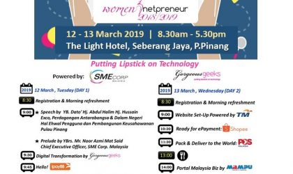Women Netpreneur eCommerce Adoption Session 2019, Penang