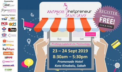 Women Netpreneur eCommerce Adoption Session (KK) Sep 2019