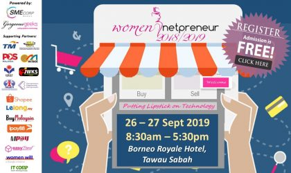 Women Netpreneur eCommerce Adoption Session (Tawau) Sep 2019