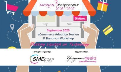 [Webinar] E-Commerce Adoption Session & Hands-on Workshop Sept 2020