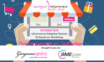 [Webinar] E-Commerce Adoption Session & Hands-on Workshop Oct 2020