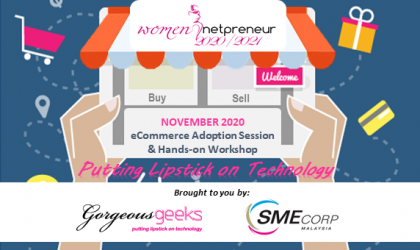 [Webinar] E-Commerce Adoption Session & Hands-on Workshop Nov 2020