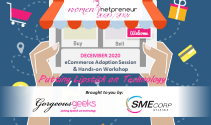 [Webinar] E-Commerce Adoption Session & Hands-on Workshop Dec 2020